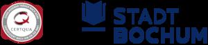 Bildinhalt ist Certqua Logo und Loge der Stadt Bochum